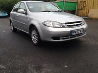 Chevrolet Lacetti 1.6 SX Excellent Low miles Fresh Mot