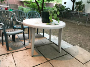 Patio Tables,Chairs/Rack/Moving Box/Fence/Electronic BBQ/Tools