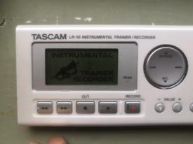 Tascam LR10 instrument trainer / recorder