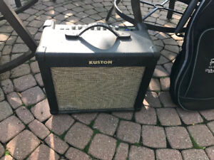 Kustom Dual 35 DFX  Guitar Amplifier