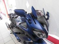 YAMAHA FJR1300A, 18 REG ONLY 153 MILES, 6 SPEED MODEL IN PHANTOM BLUE...