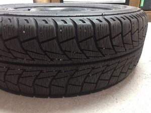 4 Used Winter Tires  + Rims