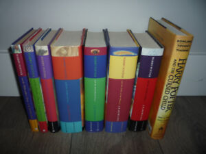 Lot of 8 Harry Potter Books Complete Set 1-8 Bloomsbury NEW