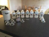 Tommee Tippee bottles and steriliser