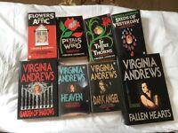 Virginia Andrews- set of 64 Books Paperback and Hardback