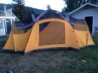 Coleman 10-person tent used once
