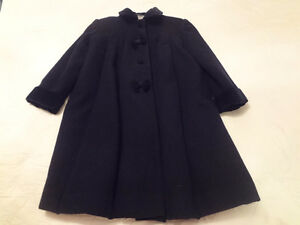 Navy Blue Girls Winter Coat Size 6