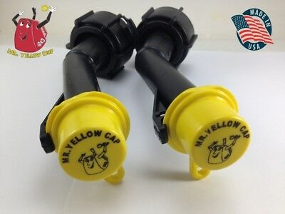 2 - Blitz Gas Can Nozzle Spouts Rings Caps Replacement Vintage 900302 900092