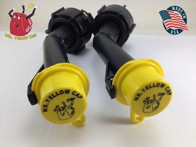 2 - Blitz Gas Can Nozzle Spouts Rings Caps Replacement Vintage 900302 900092