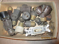 VINTAGE ELECTRICAL FITTINGS