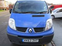 NO VAT Renault Trafic 2.0dCi SWB panel van great spec one owner from new traffic (22)