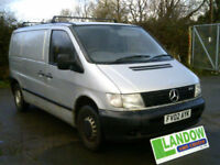Mercedes-Benz Vito 2.2TD 108CDi for spares or repair