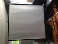 2 Projector Screens for Sale