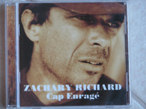 "CD Zachary Richard ""Cap enragé"""