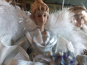 3 Beautiful Christmas Angels $35 West Island Greater Montréal image 3