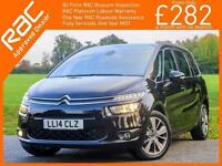 2014 Citroen C4 Picasso 1.6 e-HDI Turbo Diesel Airdream Exclusive 6 Speed 7-Seat