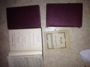 Old books and encyclopedia