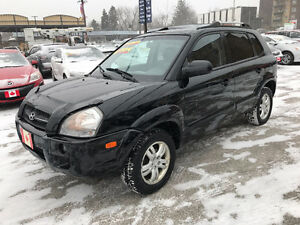 2006 Hyundai Tucson LIMITED 4WD SUV...LOADED...PERFECT COND.