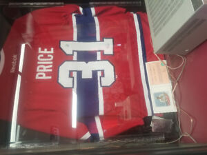 price Jersey  signed