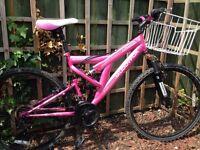 Ladies muddy fox mountain bike