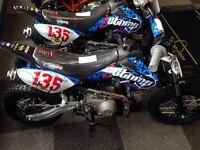 Pit bike/crosser 110cc+
