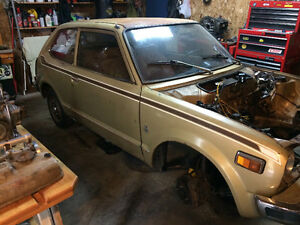 1977 Honda Civic 1200cc hondamatic