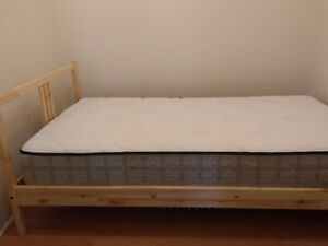 Single Size Mattress & Bed Frame