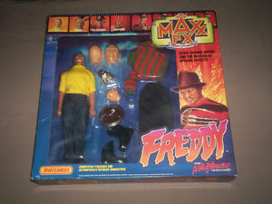 RARE FREDDY KRUEGER ACTION FIGURE 1980'S MIB made by MATCHBOX