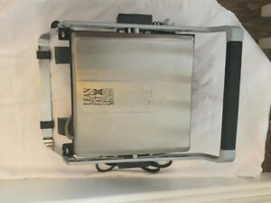 Stainless steel George Foreman grill (4 serving) - $30