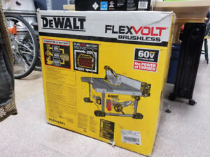 DeWalt Flexvolt 60V Table Saw - BRAND NEW