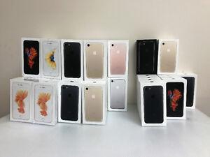 IPHONE 7,7+,6S,SE BRAND NEW UNLOCKED-16GB/32GB/128GB/256GB BLOWO