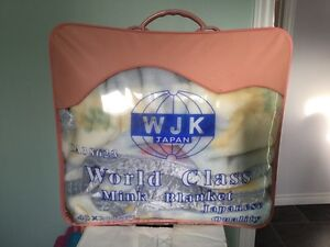 World Class Mink Blanket - New -  For twin bed @ $30.00 each. Kawartha Lakes Peterborough Area image 2