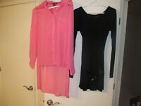 2 BOXES OF CLOTHING (APPROX 50 ITEMS) SIZE SMALL OR SIZE 3