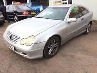 Mercedes-Benz C220 2.1TD auto CDI + LEATHER + SAT NAV + AUTO + DIESEL