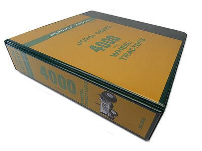 John Deere 4000 Industrial Wheel Tractor Technical Service Repair Manual 4010