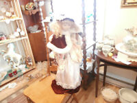 30 inch Tall Porcelain Doll at KeepSakes Antiques