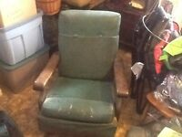 Very old rocking chair
