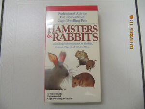 Classic Hamsters & Rabbits Professional Advice VHS New Circa1989
