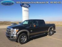 2014 Ford F-250 Super Duty  Crew Cab Lariat LOW KMS Powerstroke