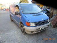 2000 Mercedes benz Vito 110 CDi 6 door Van