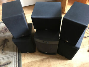 5 PSB speakers and sub!