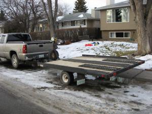 Snowmobile Trailer - Heavy Duty.