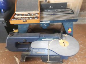 Mastercraft Router and Scrollsaw