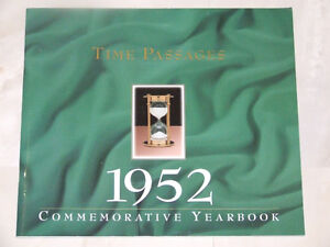 Time Passages: 1952 Commemorative Yearbook