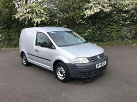 VOLKSWAGEN CADDY 1.9 TDI WHITE PANEL VAN DIESEL MANUAL 2008
