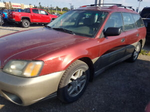 2004 SUBARU OUTBACK FOR ONLY $1900