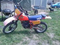 1984 XR350R Dual Carburetor model!