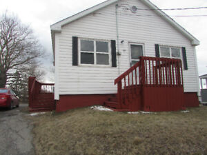 2 bedroom house for rent in Glace bay