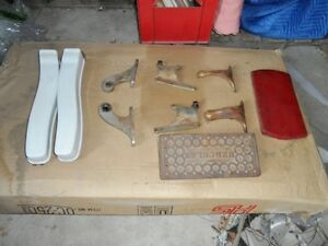 ANTIQUE BARBER CHAIR PARTS London Ontario image 2