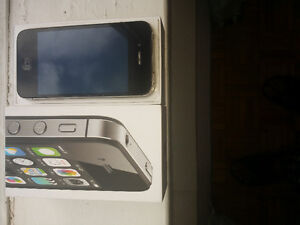 Iphone 4s 8GB- Black- Unlocked in mint condition